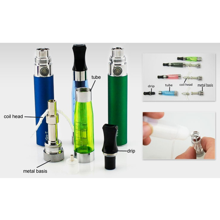 ... Rokok Elektrik eGo-CE5 Vaporizer 1.6ml 1100mAh - Black - 2 ...