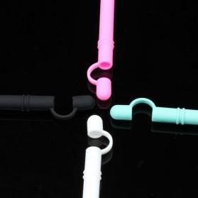 MornRise Soft Silicone Case Cover for Apple Pencil 1 Stylus - 2168 - Black - 3