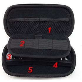 ZEST Tas Gadget Organizer - GH1309 - Black - 8