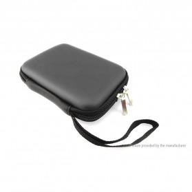 FASTTECH Tas Hard Disk External 2.5 Protective Bag Storage Case External Organizer - GH1329 - Black - 2