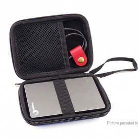 FASTTECH Tas Hard Disk External 2.5 Protective Bag Storage Case External Organizer - GH1329 - Black - 5