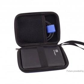 FASTTECH Tas Hard Disk External 2.5 Protective Bag Storage Case External Organizer - GH1329 - Black - 6