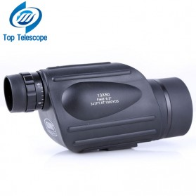 Olahraga & Outdoor - Gomu Teropong Monocular Outdoor Magnification HD Zoom 13x50 - Black