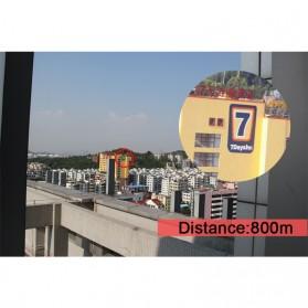 Gomu Teropong Monocular Outdoor Magnification HD Zoom 13x50 - Black - 7