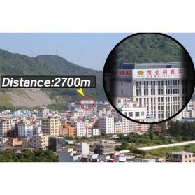Gomu Teropong Monocular Outdoor Magnification HD Zoom 13x50 - Black - 8