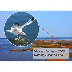 Gomu Teropong Monocular Outdoor Magnification HD Zoom 13x50 - Black - 9