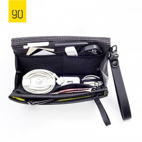 Xiaomi 90 Clutch Tas Gadget Organizer Waterproof Bag - 206601 - Black - 6
