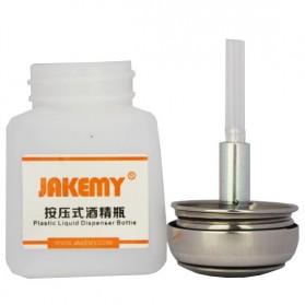 Jakemy Liquid Alcohol Plastic Dispenser Bottle 120ml - JM-Z10 - White - 2