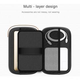 BASEUS Tas Gadget Organizer 7.2 Inch - LBSPT-A01 - Black - 3