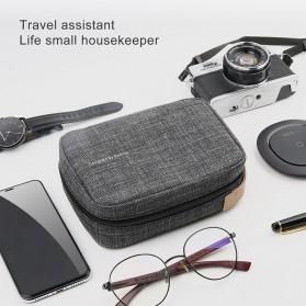 BASEUS Tas Gadget Organizer 7.2 Inch - LBSPT-A01 - Black - 4