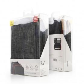 BASEUS Tas Gadget Organizer 7.2 Inch - LBSPT-A01 - Black - 9
