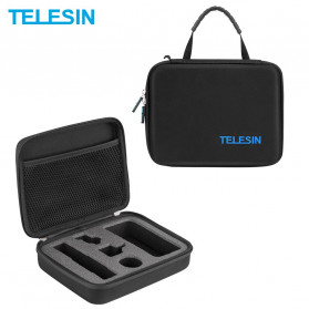 Telesin Tas Kamera Shookproof Storage EVA Bag for DJI Osmo Pocket - OS-BAG-001 - Black