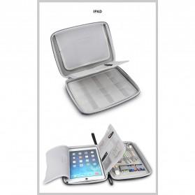 BUBM Tas Gadget Organizer iPad -  IPET (ORIGINAL) - Black - 5