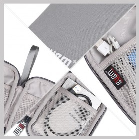 BUBM Tas Gadget Organizer - QYD (ORIGINAL) - Gray - 2