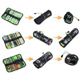 BUBM Tas Gadget Organizer Size S - UDJ-S (ORIGINAL) - Black - 9