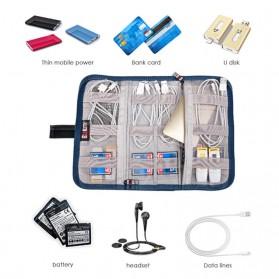 BUBM Tas Gadget Organizer - NPV-M (ORIGINAL) - Blue - 7