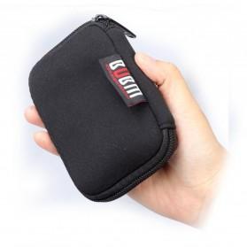 BUBM Tas Gadget Organizer - 6U (ORIGINAL) - Black - 2