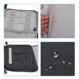BUBM Tas Gadget Organizer - SER-M (ORIGINAL) - Dark Gray - 2