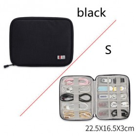 BUBM Tas Gadget Organizer - DIO-S (ORIGINAL) - Black