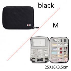 BUBM Tas Gadget Organizer - DIO-M (ORIGINAL) - Black
