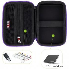 BUBM Tas Gadget Organizer - EHD-S (ORIGINAL) - Black - 9