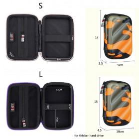 BUBM Tas Gadget Organizer - EHD-L (ORIGINAL) - Black - 4