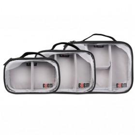 BUBM Tas Gadget Bag in Bag Organizer 3 in 1 - DRS-T (ORIGINAL) - Black