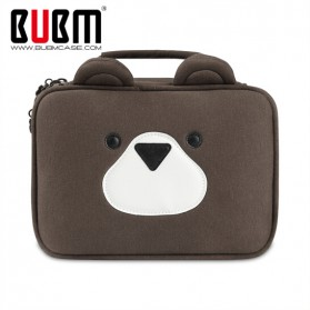 BUBM Tas Gadget Organizer Model Bear - DPS-X (ORIGINAL) - Brown
