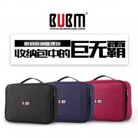 BUBM Tas Gadget Organizer with Storage Board - TBM (ORIGINAL) - Black - 2
