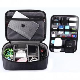 BUBM Tas Gadget Organizer with Storage Board - TBM (ORIGINAL) - Black - 9