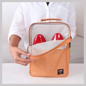 BUBM Tas Travel Single Layer Organizer untuk Sepatu & Sandal - TXD-M - Gray - 3
