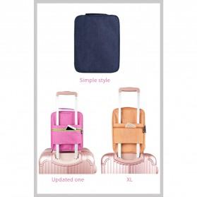 BUBM Tas Travel Single Layer Organizer untuk Sepatu & Sandal - TXD-M - Gray - 5