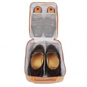 BUBM Tas Travel Single Layer Organizer untuk Sepatu & Sandal - TXD-M - Gray - 6