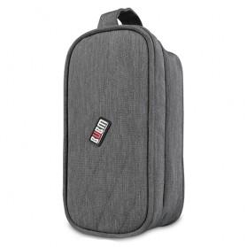 BUBM Tas Gadget Organizer Size M - DLP-M (ORIGINAL) - Gray