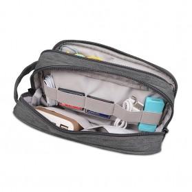 BUBM Tas Gadget Organizer Size M - DLP-M (ORIGINAL) - Gray - 4