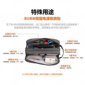 BUBM Tas Gadget Organizer Size L - DLP-L (ORIGINAL) - Gray - 6