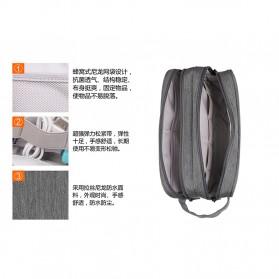 BUBM Tas Gadget Organizer Size L - DLP-L (ORIGINAL) - Gray - 7