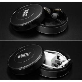BUBM Aluminium Gadget Organizer Headset Flashdisk Storage - LHJH (ORIGINAL) - Black - 6