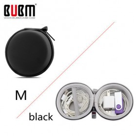 BUBM Tas Gadget Organizer Flashdisk Storage - TSX-M (ORIGINAL) - Black - 1