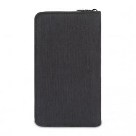 BUBM Cover Passport Multifungsi Bahan Nylon - Black - 2