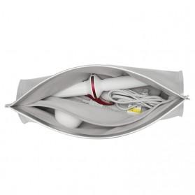 BUBM Tas Alat Catok Rambut Curling Iron Organizer Bag - JFQ (ORIGINAL) - Silver - 3