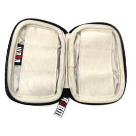 BUBM Universal Electronics Accessories Portable Case - BUBM-6U (ORI) - Black - 2
