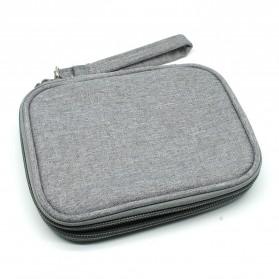 BUBM Tas Gadget Organizer HDD 2.5 Inch - UYD-MYB (ORIGINAL) - Gray