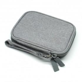 BUBM Tas Gadget Organizer HDD 2.5 Inch - UYD-MYB (ORIGINAL) - Gray - 2