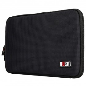 BUBM Gadget Organizer Bag Portable Case - DIS-L (ORIGINAL) - Black/Green - 4
