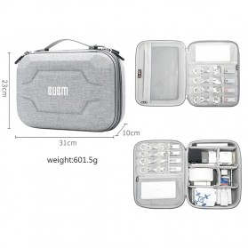 BUBM Tas Gadget Organizer Size L - DPSEL-MYB (ORIGINAL) - Gray