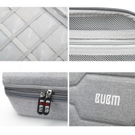 BUBM Tas Gadget Organizer Size L - DPSEL-MYB (ORIGINAL) - Gray - 7