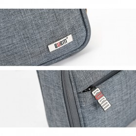 BUBM Tas Organizer Gadget dan Aksesoris Single Layer - DMS-S (ORIGINAL) - Gray - 7