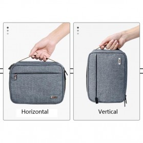 BUBM Tas Organizer Gadget dan Aksesoris Single Layer - DMS-S (ORIGINAL) - Gray - 8