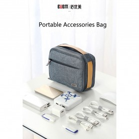 BUBM Tas Organizer Gadget dan Aksesoris Single Layer - DMS-S (ORIGINAL) - Gray - 9
